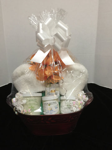 Natural Remedy Gift Basket - Naturally My Sister's Keeper