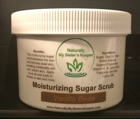 Moisturizing Sugar Scrub - Pick 2 for $20 - Naturally My Sister's Keeper