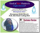 M.R. (Menopause Relief) Whip for Hot Flashes, Sweating and PMS - Naturally My Sister's Keeper