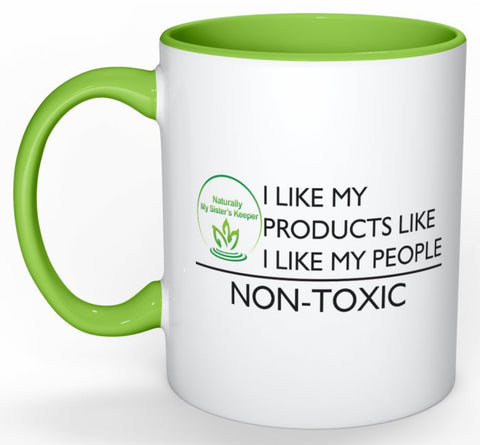 Naturally My Sisters Keeper Mug - Nontoxics - Naturally My Sister's Keeper