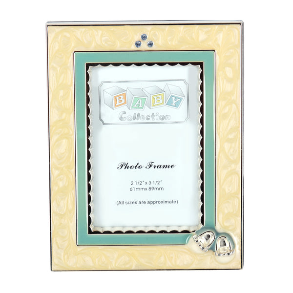 BABY, Photo Frame, Blue - Barton,Son & Co.