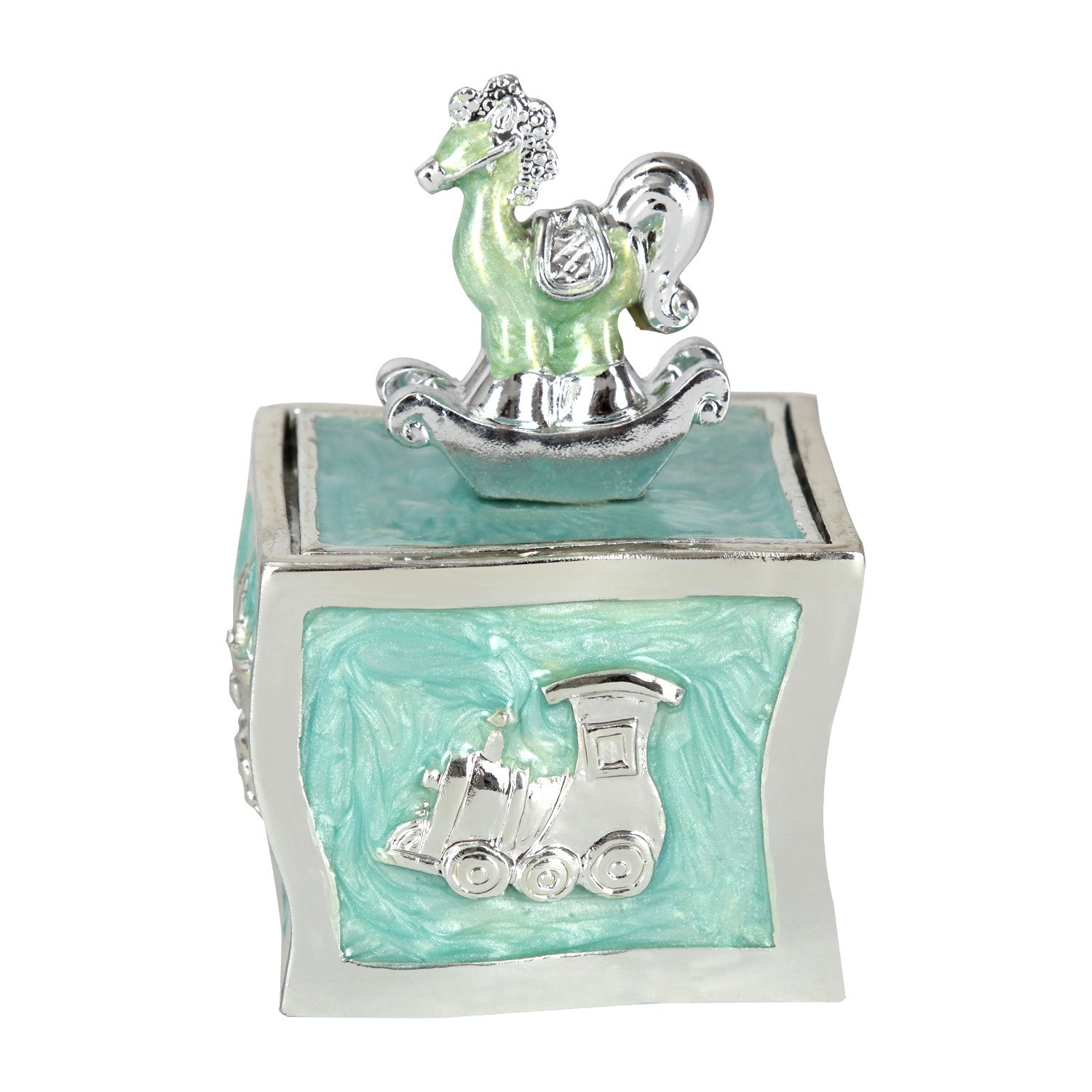 BABY, Trinket box, Blue - Barton,Son & Co.