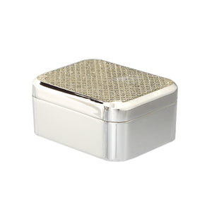 BOX, Rectangle, Lid, Crystal - Barton,Son & Co.