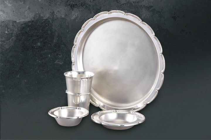 Dinner Set-Cerated-with Katori Glass Halwa Dish - Barton,Son & Co.