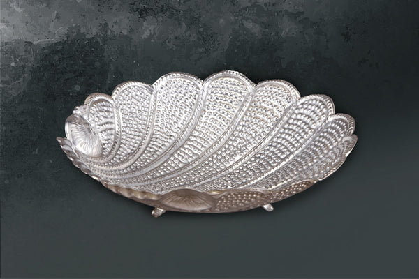 Dish Shell with Hammer Tone-Legs - Barton,Son & Co.