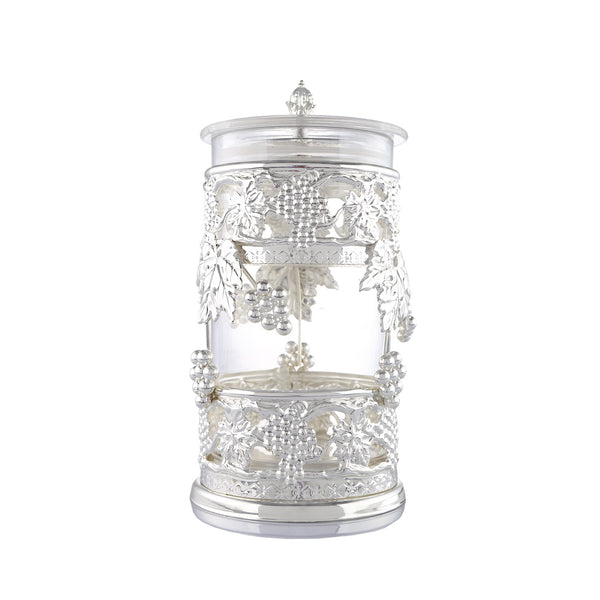 JAR – Glass, Airtight, Grapevine - Barton,Son & Co.