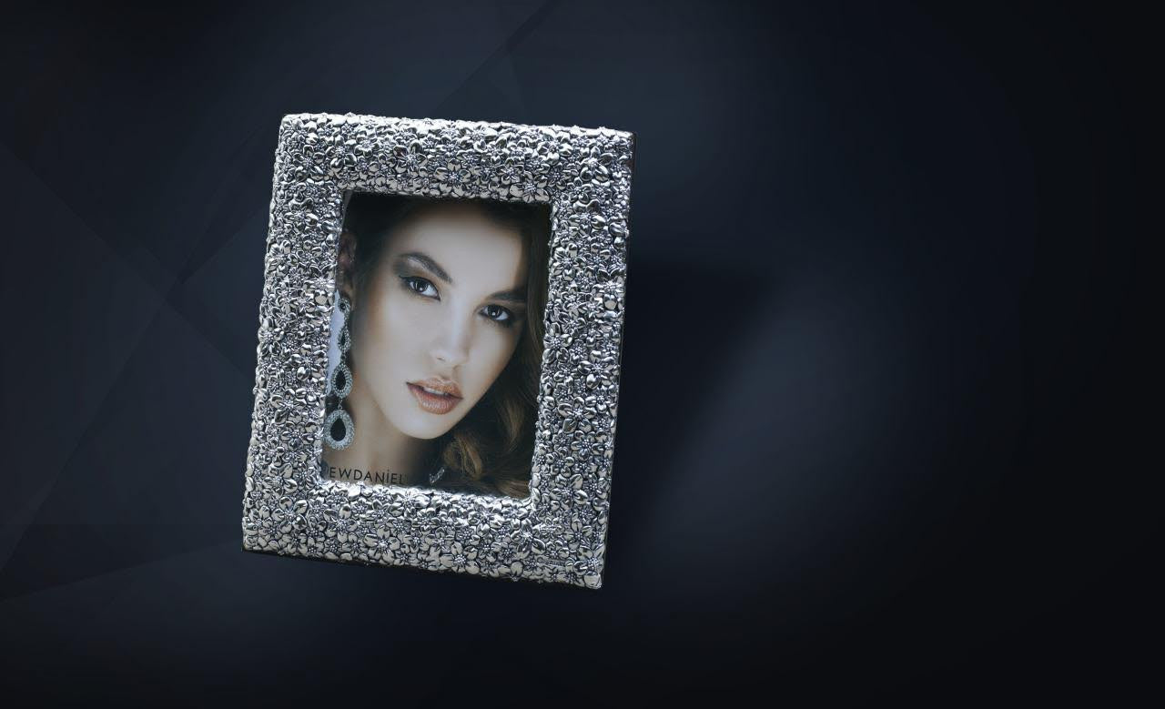 Silver Photo Frame - Barton,Son & Co.