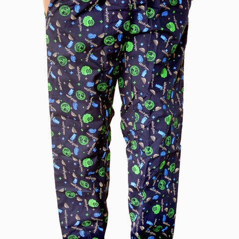 Games On Doors Printed Cotton Pyjamas-blue01