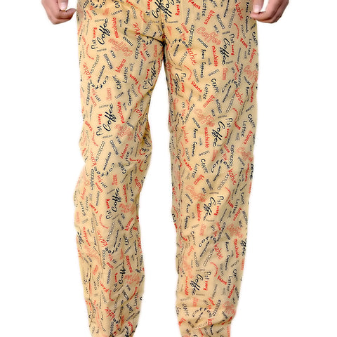 Games On Doors Printed Cotton Pyjamas-yellow02