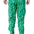 Games On Doors Printed Cotton Pyjamas-green