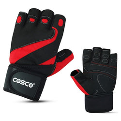 Cosco Tuff Fit Gym & Fitness Gloves (M)