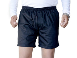 Games On Doors Cotton Plain Boxer - Black