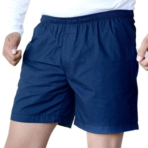 Games On Doors Cotton Plain Boxer - Navy Blue