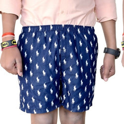 Games On Doors Black-Blue Printed Cotton Boxers Combo-Pack Of 3