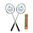 """Cosco CB-88 Badminton Racket Pair With Field King Badminton Shuttle Cock ( Pack of 10 )- Badminton Kit"