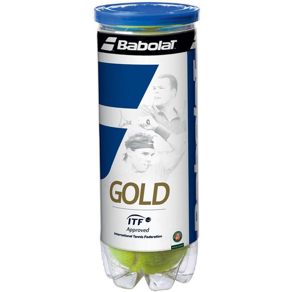 Babolat Gold Tennis Balls-Pack Of 3