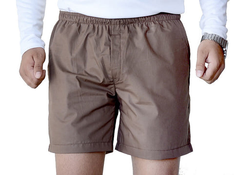 Games On Doors Cotton Plain Boxer - Brown