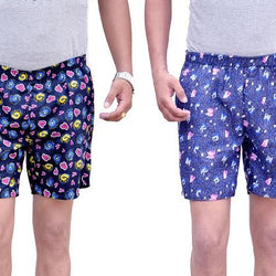 Games On Doors Galaxy Printed Cotton Boxers Combo-Pack Of 2