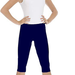Gym Four way Lycra Navy Blue Tights/Capri/Yoga Pants for Women