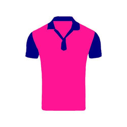 Games On Doors Super Micro Coloured Cricket Dress(Pink,Navy Blue)