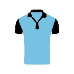 Games On Doors Super Micro Coloured Cricket Dress(Sky Blue,Black)
