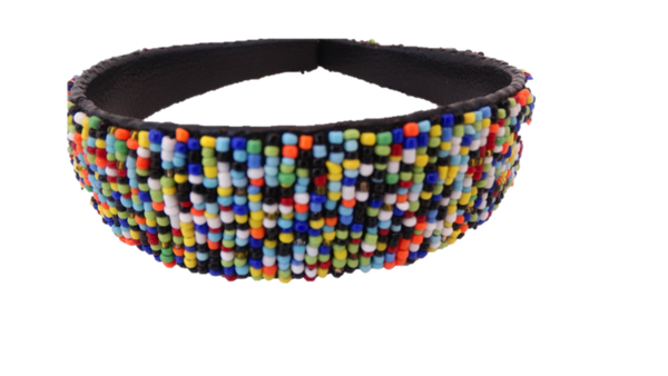 African Beaded Headband - A'Maze Africa