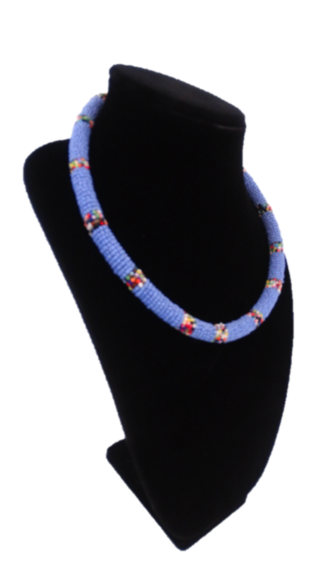 African Beaded Rope Necklace - A'Maze Africa - 6