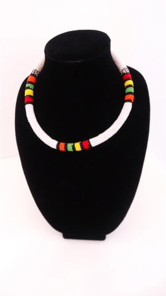 Masai Beaded Pipe Necklace - A'Maze Africa
