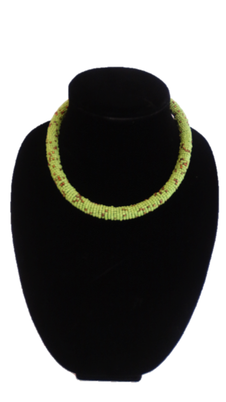 African Beaded Pipe Necklace - A'Maze Africa - 5