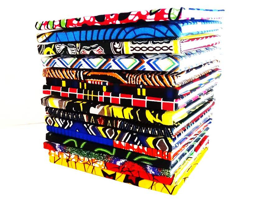 African Print Covered Notebook - A'Maze Africa - 2