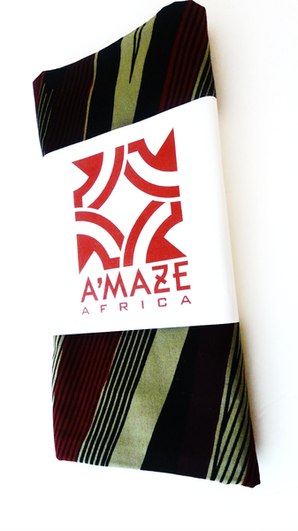 Tumi -  African Print Head Wrap - A'Maze Africa