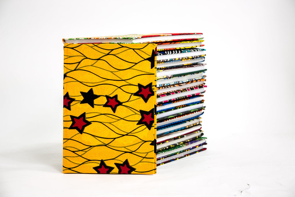 African Print Covered Notebook - A'Maze Africa - 23