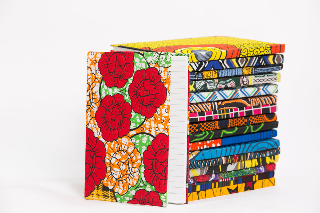 African Print Covered Notebook - A'Maze Africa - 22