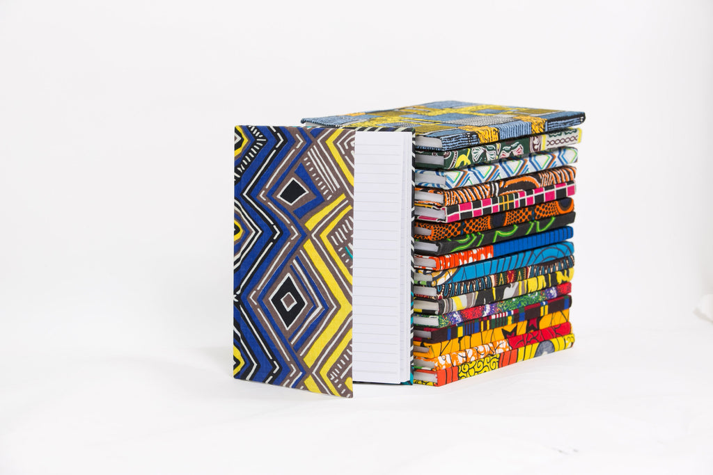African Print Covered Notebook - A'Maze Africa - 12