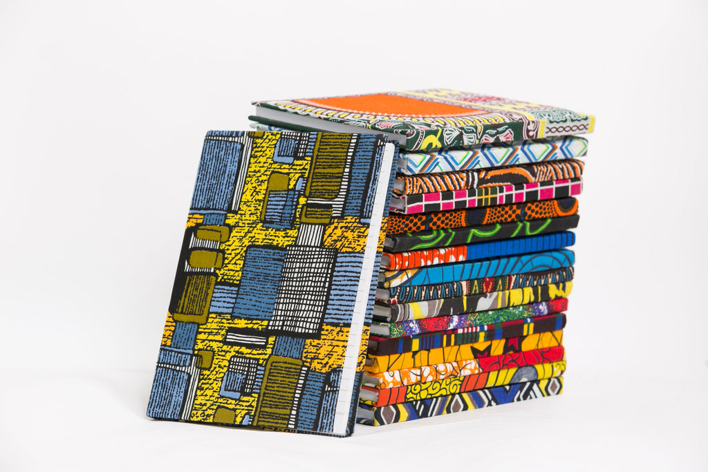 African Print Covered Notebook - A'Maze Africa - 19