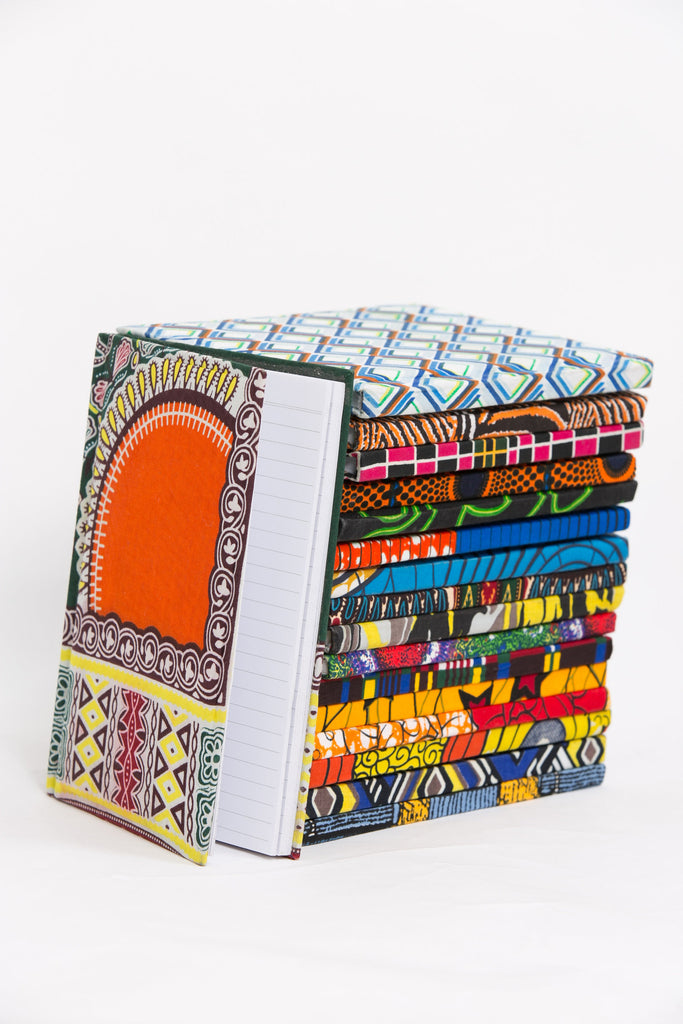 African Print Covered Notebook - A'Maze Africa - 13