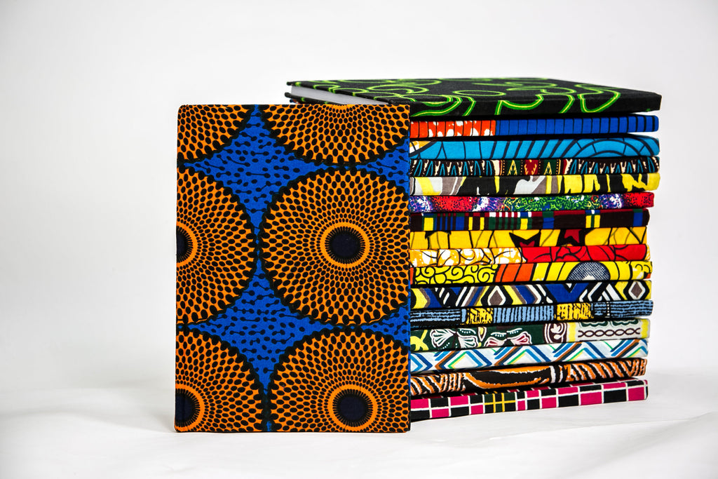 African Print Covered Notebook - A'Maze Africa - 21