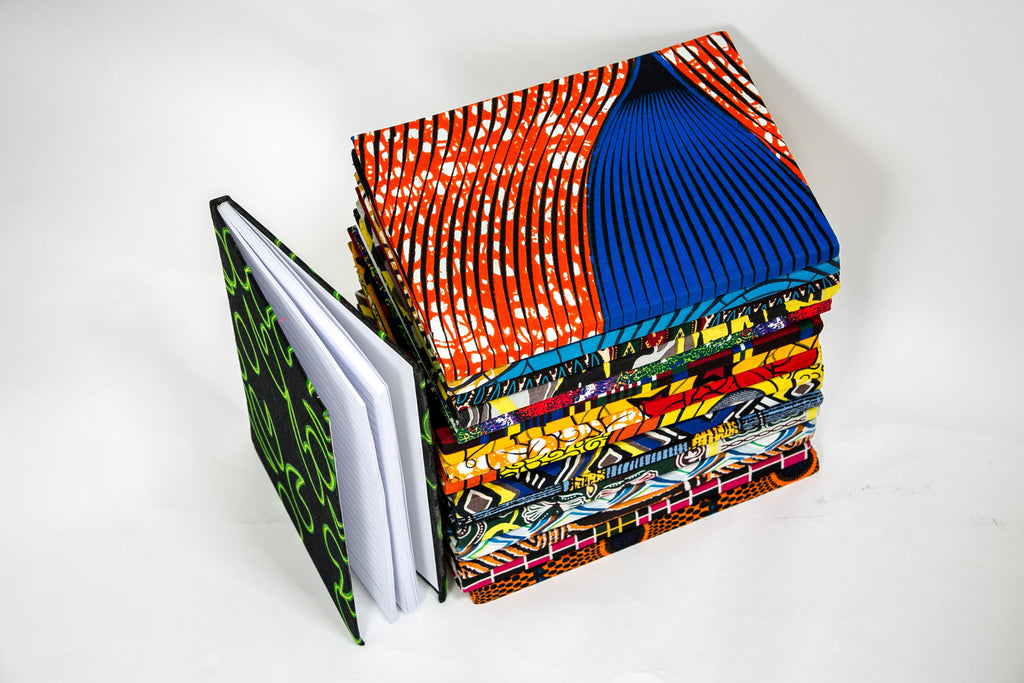 African Print Covered Notebook - A'Maze Africa - 15