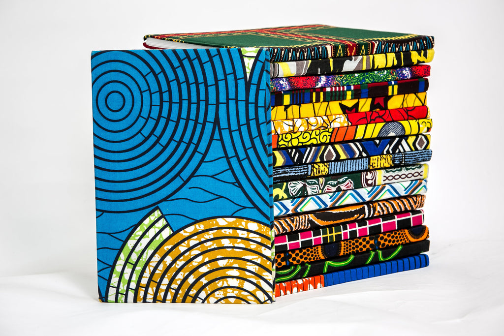 African Print Covered Notebook - A'Maze Africa - 18