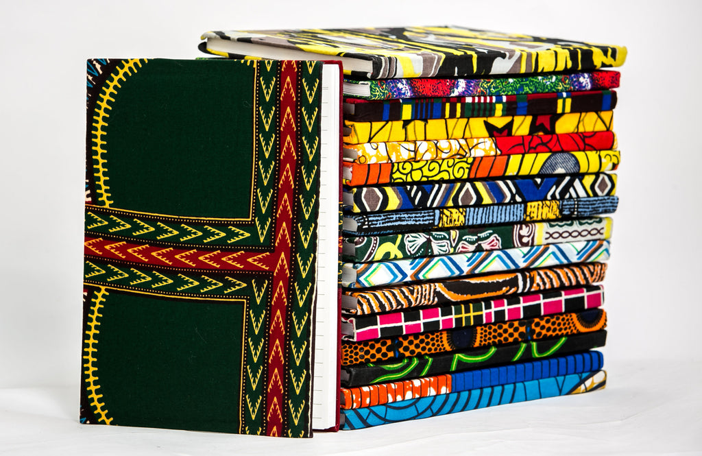 African Print Covered Notebook - A'Maze Africa - 17