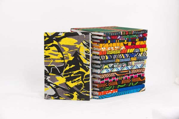 African Print Covered Notebook - A'Maze Africa