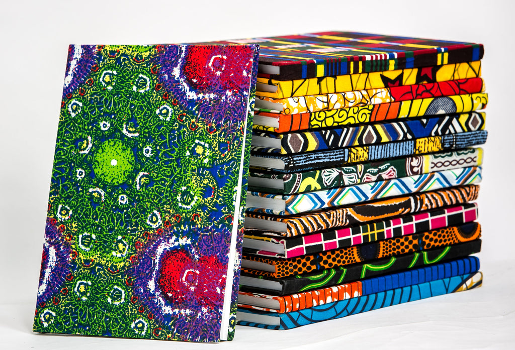 African Print Covered Notebook - A'Maze Africa - 24