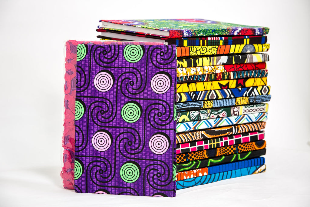 African Print Covered Notebook - A'Maze Africa - 16