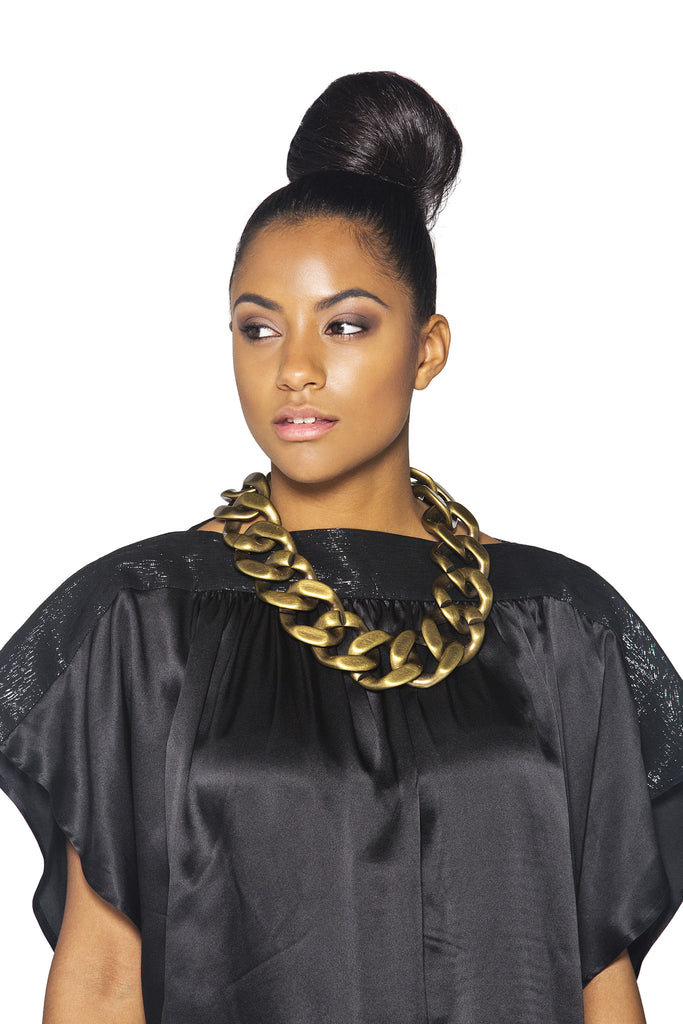 Chunky Link Necklace - A'Maze Africa - 2
