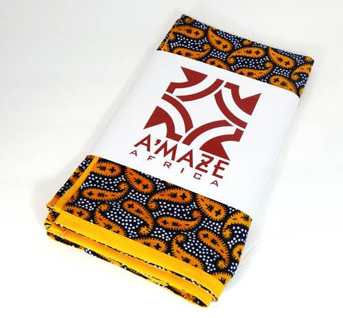 African Print Head Wrap - Simi - A'Maze Africa - 1