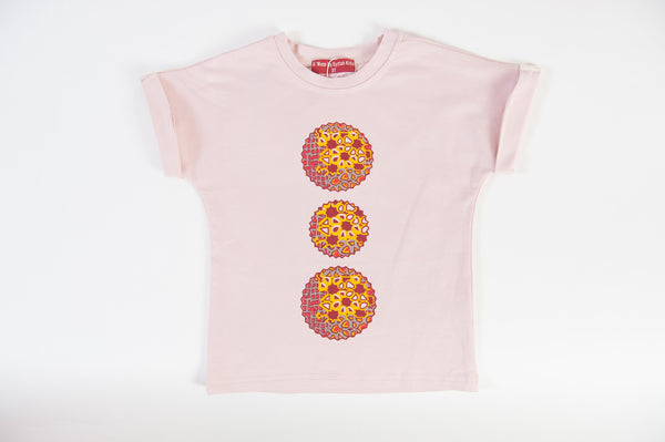 Afro Pulley Tee with Ankara Prints - A'Maze Africa