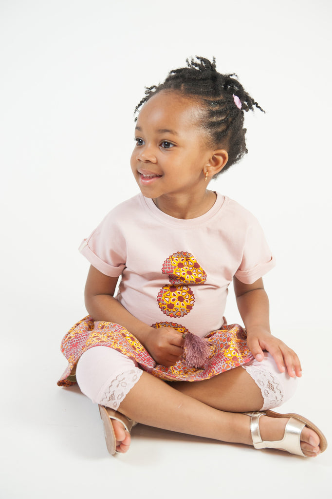 Afro Pulley Tee with Ankara Prints - A'Maze Africa - 4