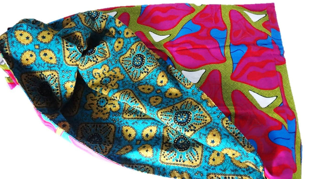 Aduke - African Print Infinity Scarf - A'Maze Africa - 4