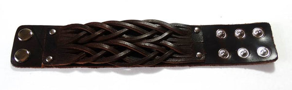 Amaze Men's Rugged Leather Bracelet - A'Maze Africa - 1