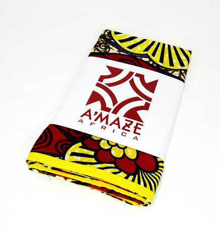 African Print Head Wrap - Visions - A'Maze Africa - 1